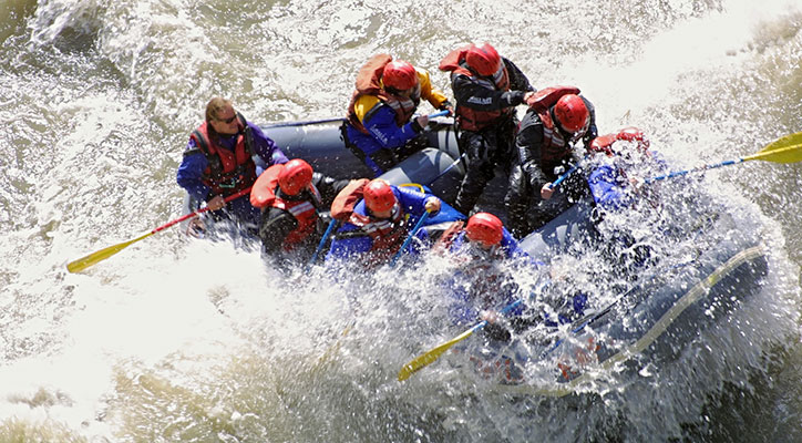 ActiMut assure la pratique du rafting